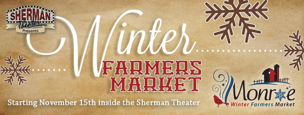 New! Monroe Winter Farmers Market