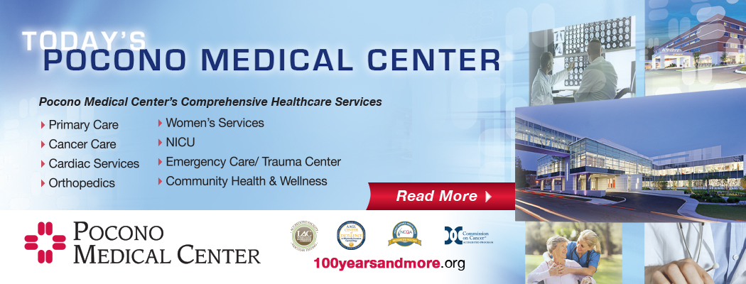 pocono medical center, sponsor, partnership