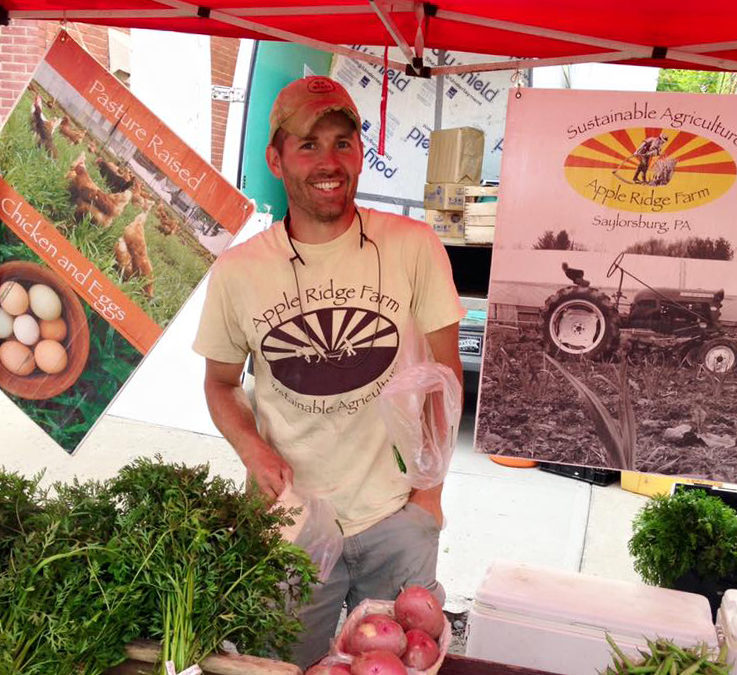 Brian Bruno from Apple Ridge Farm in Saylorsburg, PA