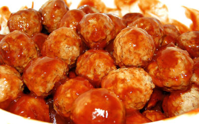 Special Lady's Sweet & Spicy Meatballs