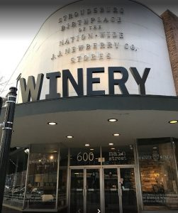 Inside Renegade Winery on Main Street