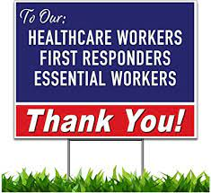 May 29 Thank you Essential Workers Day