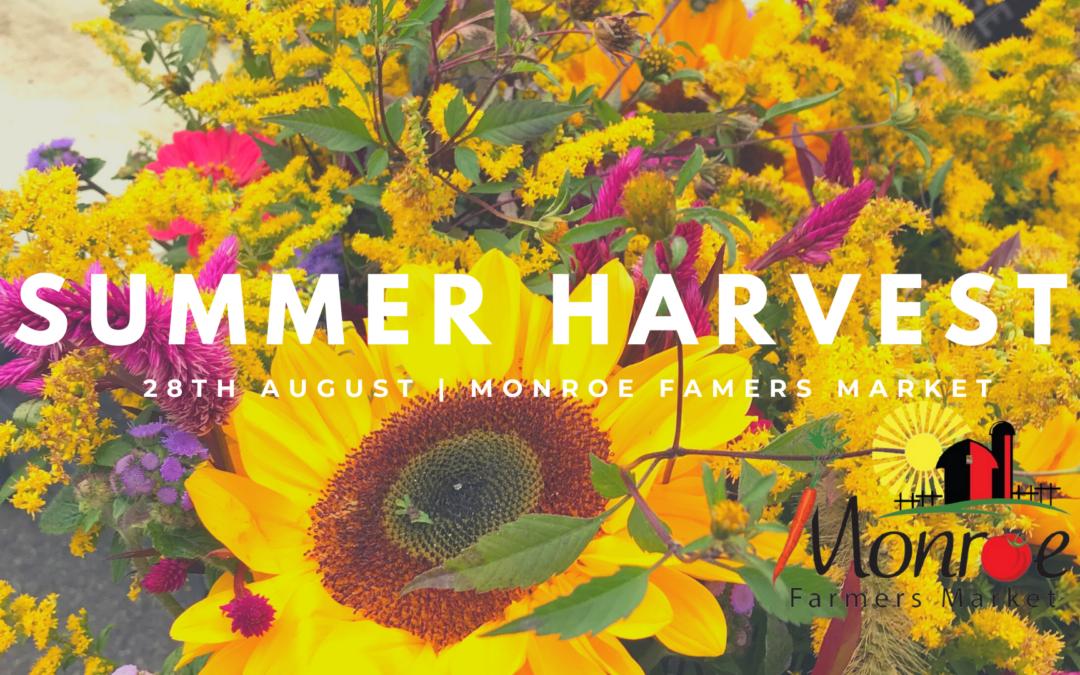 Summer Harvest at Monroe Farmers Market